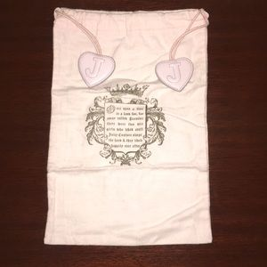Authentic Juicy Couture dust cover